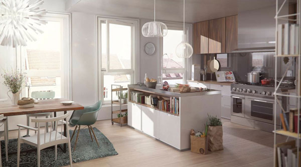 LORELEY - Pestalozzistraße 11 - Küche
