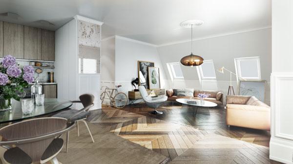 LORELEY - Pestalozzistraße 11 - Wohnzimmer